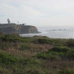 World famous surf spot Mavericks is visible from the south part of FMR.